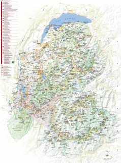 Carte Savoie Mont-Blanc