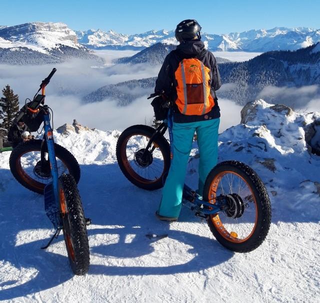 Trottinette et Mountainboard