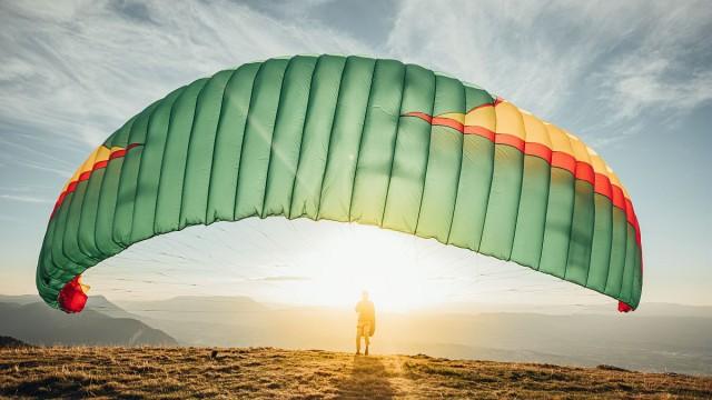 Aire de décollage parapente