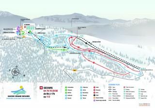 plan alpin Revard-350