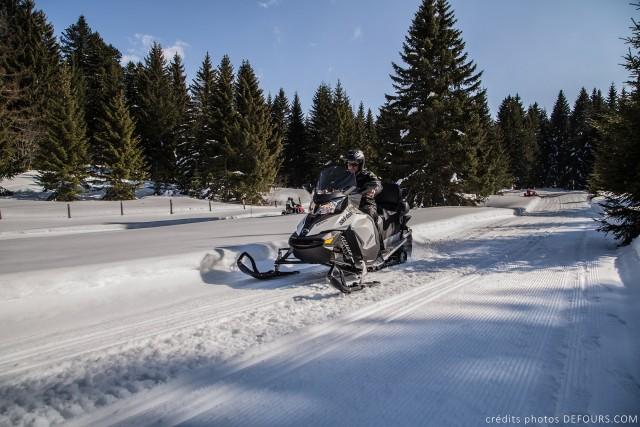 Aventure Motoneige - Savoie Grand Revard