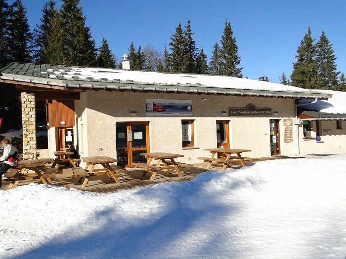 Foyer de ski de fond de Crolles