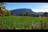 plateau de glaise, à l'automne