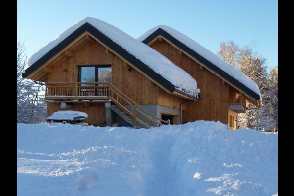 le gite sous la neige - Joli appartement dans chalet au coeur du village nordique de La Féclaz
