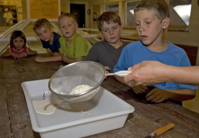 Atelier de fabrication de Tome des Bauges et beurre